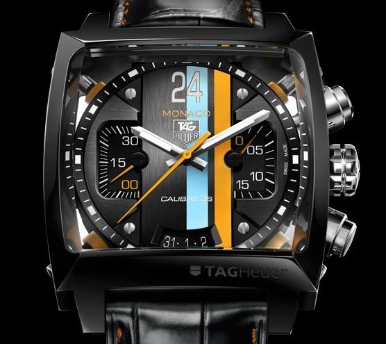 Replica TAG Heuer Monaco 24 Concept Chronograph Calibre 36 Price