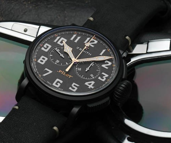 Replica Zenith Pilot Type 20 Chronograph Ton Up Black Price