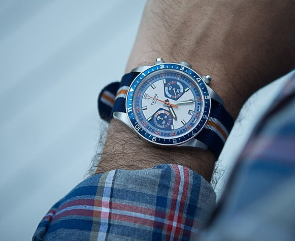 Best Replica Tudor Heritage Chrono Blue Price