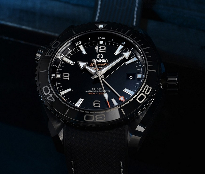 Replica Omega Seamaster Planet Ocean GMT Deep Black Price