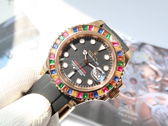 Replica Rolex Yacht-Master 40mm Rainbow 116695SATS Price